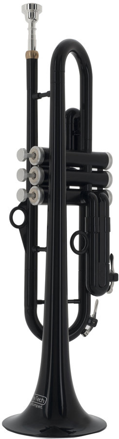 View larger image of pInstruments Bb Trumpet by hyTech - Black