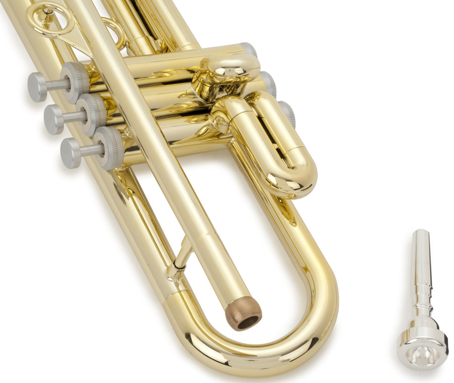 View larger image of pInstruments Bb Trumpet by hyTech - Gold