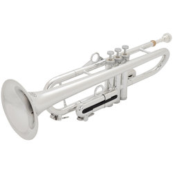 pInstruments Bb Trumpet by hyTech - Silver