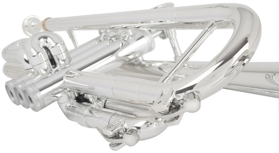 View larger image of pInstruments Bb Trumpet by hyTech - Silver
