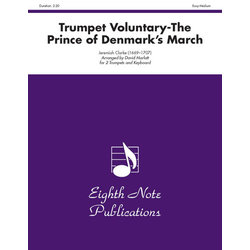 Trumpet Voluntary - (The Prince of Denmark's March) - Trumpet Duet