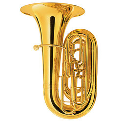 Tuba King 2341W (includes wood case)