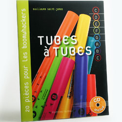 Tubes à tubes - Boomwhackers Book, with CD