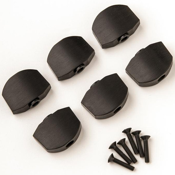 View larger image of PRS Phase III Tuner Buttons - Ebony, Set of 6