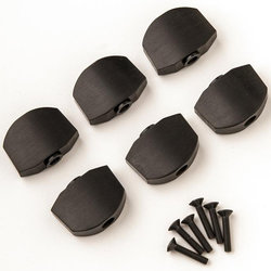 PRS Phase III Tuner Buttons - Ebony, Set of 6