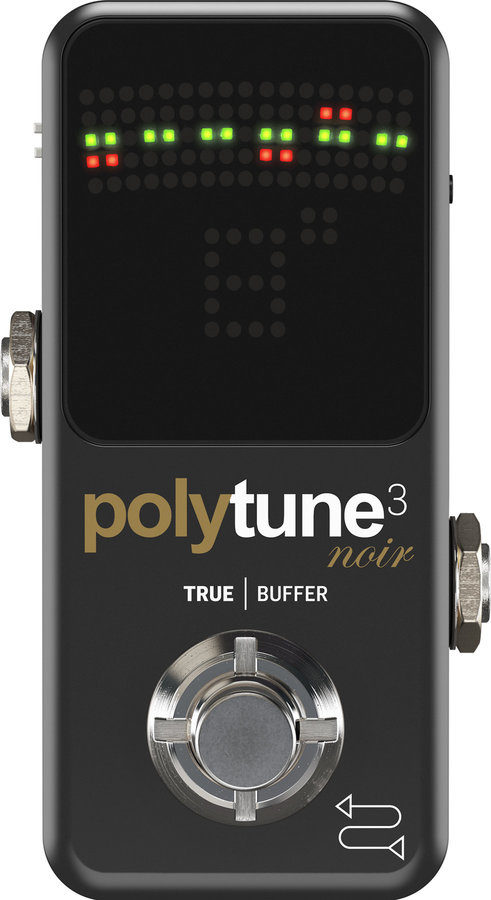 View larger image of TC Electronic PolyTune 3 Pedal Tuner - Noir