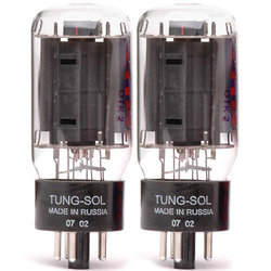 Tung-Sol 6L6 Power Vacuum Tubes - Matched Pair