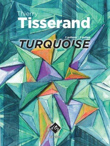 View larger image of Turquoise (Tisserand) - Guitar Duet