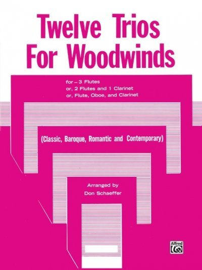View larger image of Twelve Trios for Woodwinds