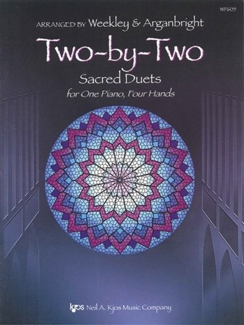 View larger image of Two-By-Two (Sacred Duets) - Piano Duet (1P4H)