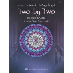 Two-By-Two (Sacred Duets) - Piano Duet (1P4H)