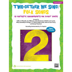 Two-Gether We Sing Folk Songs - Teacher Handbook