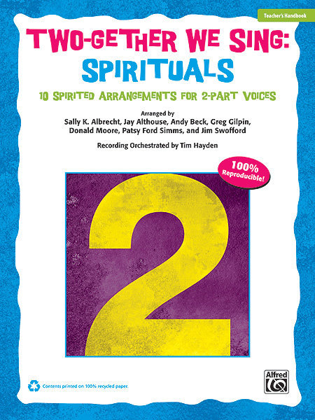 View larger image of Two-Gether We Sing Spirituals - Teacher Handbook