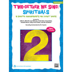 Two-Gether We Sing Spirituals - Teacher Handbook