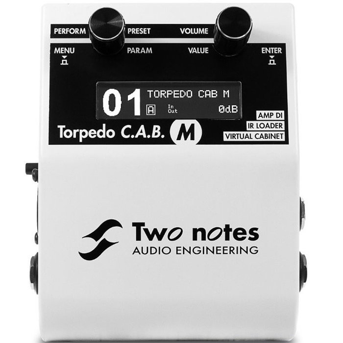 View larger image of Two Notes Torpedo C.A.B. M Speaker Simulator Pedal