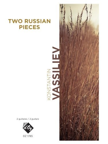 View larger image of Two Russian Pieces (Vassiliev) - Guitar Duet