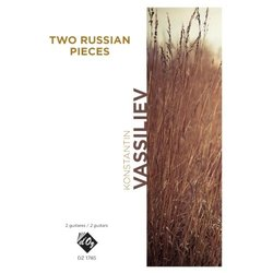 Two Russian Pieces (Vassiliev) - Guitar Duet
