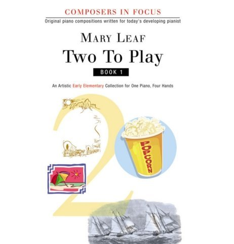 View larger image of Two To Play Book 1 - Piano Duet (1P4H)