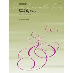 Twos By Two - Percussion Duet