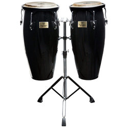 Tycoon Supremo Series Congas - 10 / 11, Black