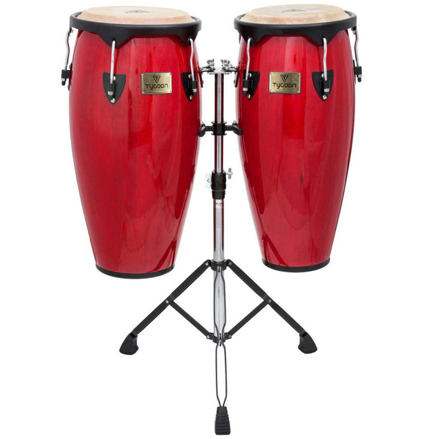 View larger image of Tycoon Supremo Series Congas - 10 / 11, Red
