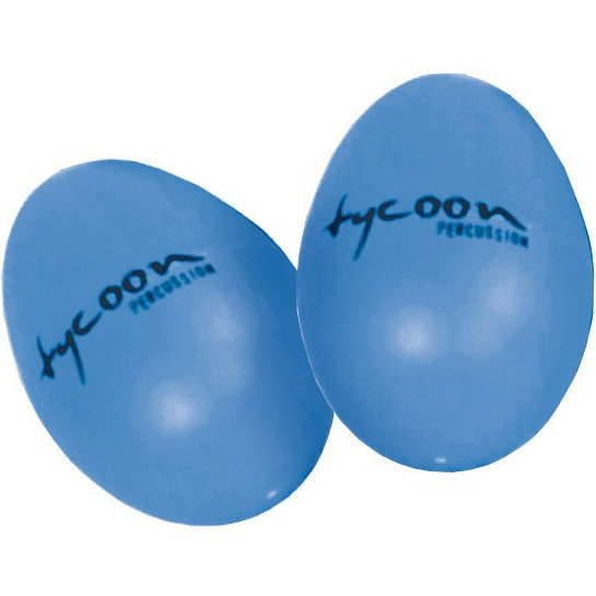 View larger image of Tycoon Percussion TC-TE-B Egg Shakers - Blue, Pair