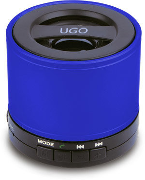 View larger image of UGO Bluetooth Wireless Mini Speaker - Blue