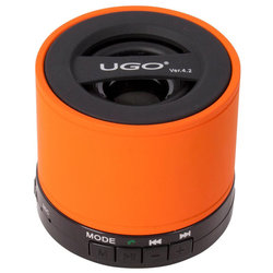 UGO Bluetooth Wireless Mini Speaker - Orange