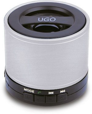 View larger image of UGO Bluetooth Wireless Mini Speaker - Silver