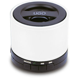 UGO Bluetooth Wireless Mini Speaker - White