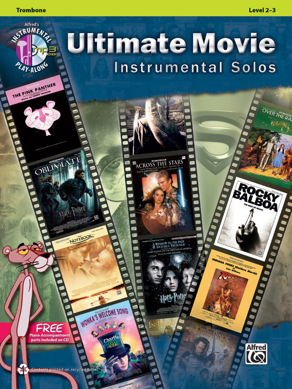 View larger image of Ultimate Movie Instrumental Solos - Trombone