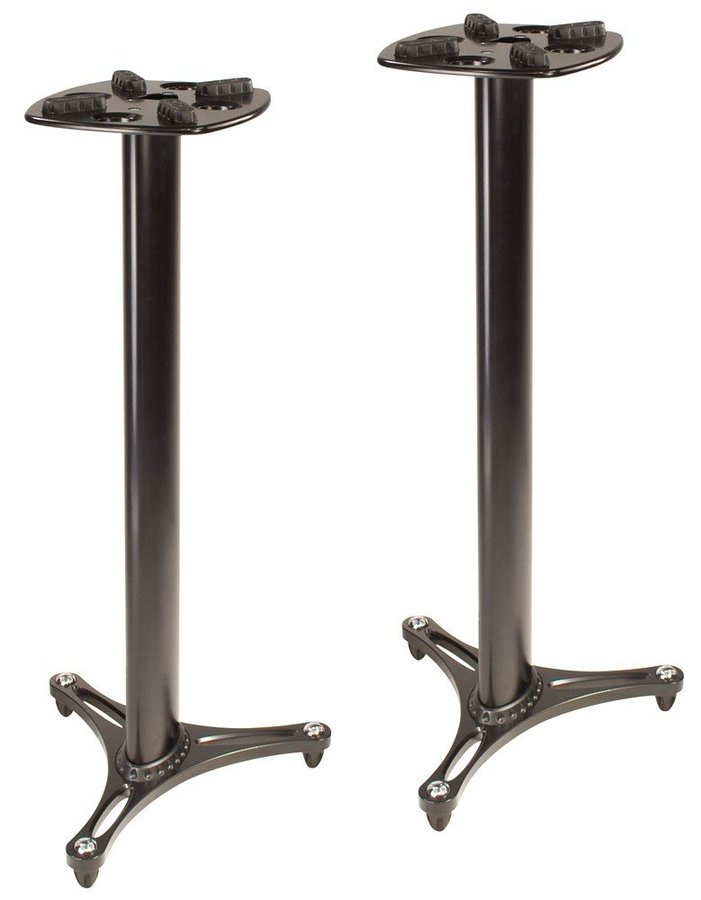 View larger image of Ultimate Support MS-90/45B Speaker Stands - Black, Pair