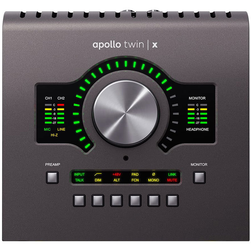 View larger image of Universal Audio Apollo Twin X Interface