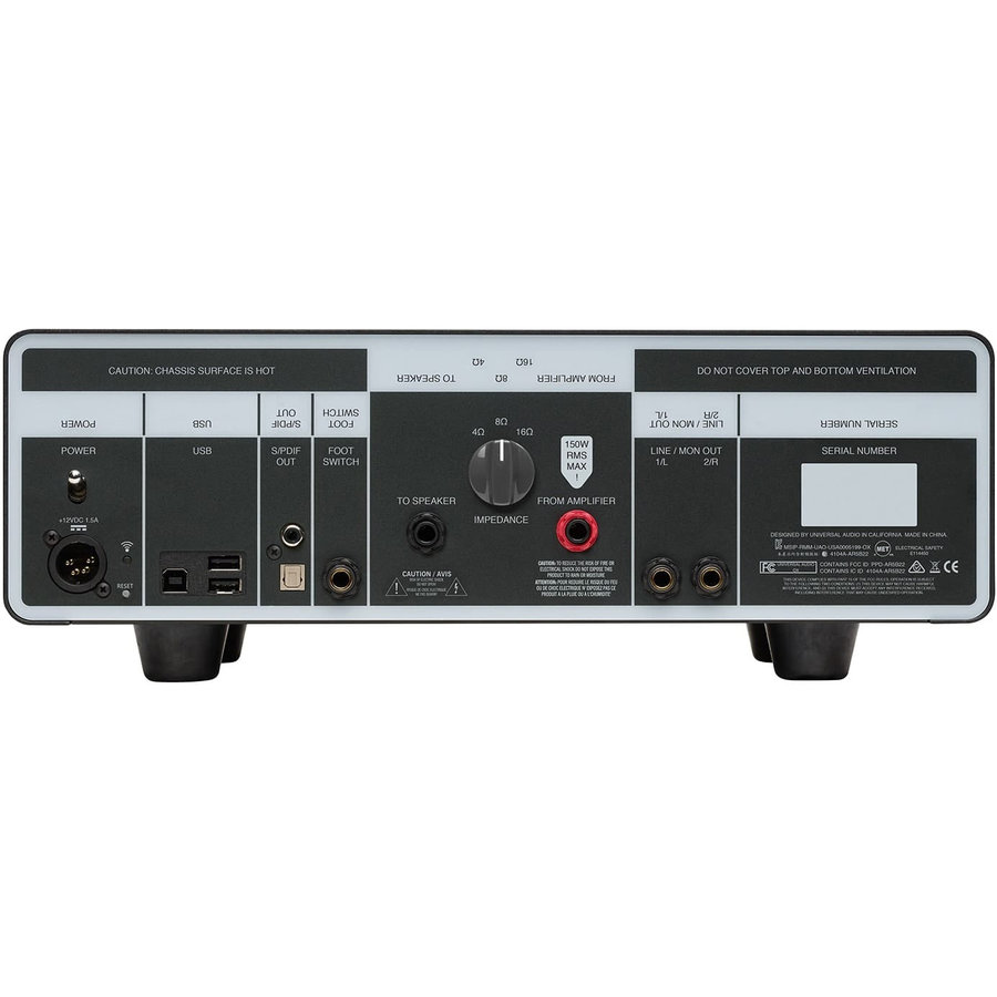 View larger image of Universal Audio OX Amp Top Box