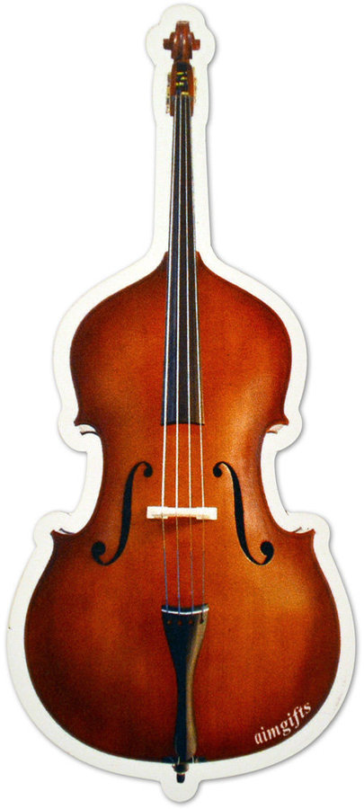 View larger image of Upright Bass Die Cut Magnet - 6