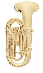View larger image of Upright Tuba Pin