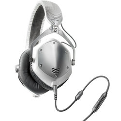V-Moda Crossfade M-100 Headphones - White Silver