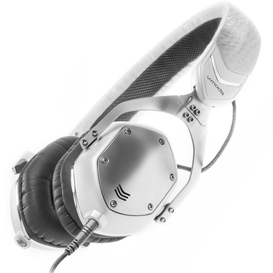 View larger image of V-Moda XS On-Ear Headphons - Silver