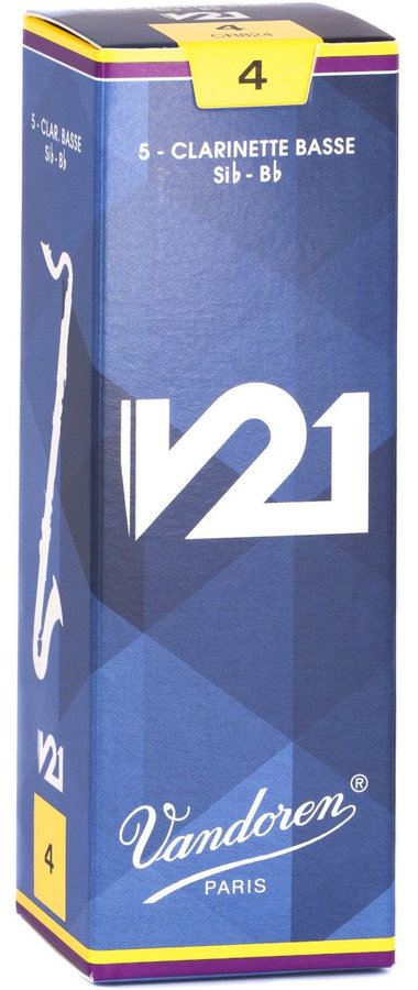 View larger image of Vandoren V21 Bass Clarinet Reeds - #4, 5 Box