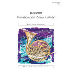 Variations on Down Ampney - Score & Parts, Grade 4