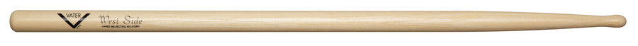 View larger image of Vater West Side Drum Sticks - Round Oval Tip