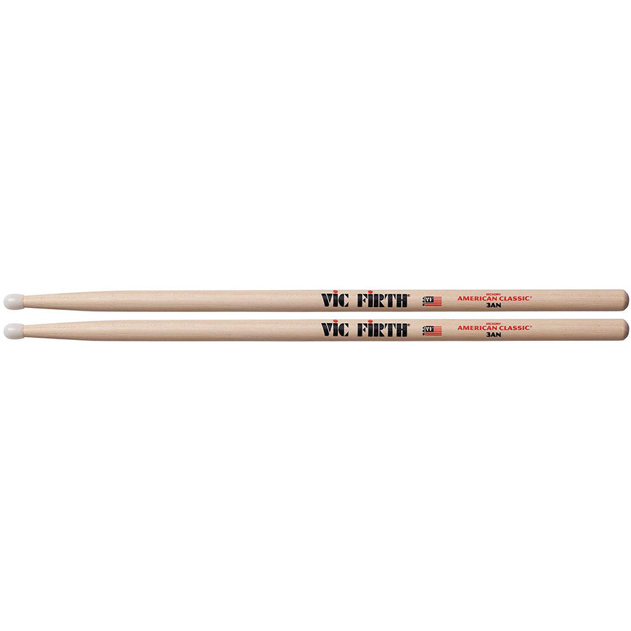 View larger image of Vic Firth American Classic Drumsticks - 3AN, Nylon