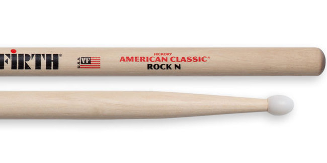 View larger image of Vic Firth American Classic Nylon Rock Drumsticks - Hickory