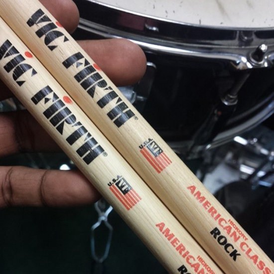 View larger image of Vic Firth American Classic Rock Drumsticks - Hickory