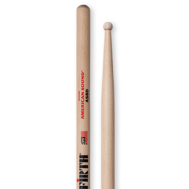 View larger image of Vic Firth American Sound Drumsticks - 8D, Hickory