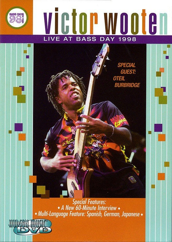 View larger image of Victor Wooten Live at Bass Day 1998