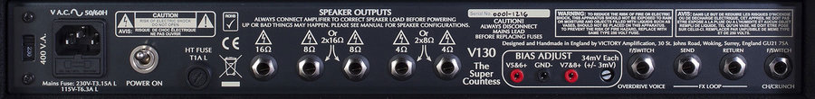 View larger image of Victory V130 The Super Countess Guitar Amp Head