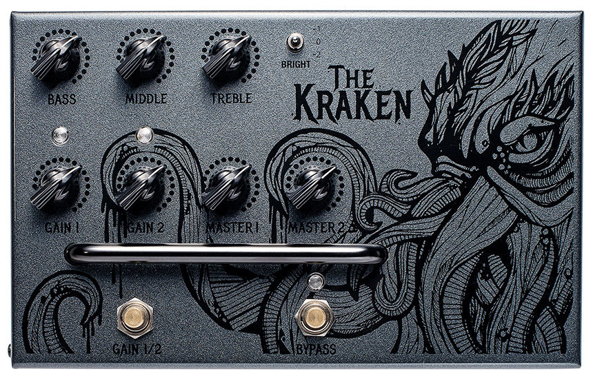 View larger image of Victory V4 The Kraken Preamp Pedal