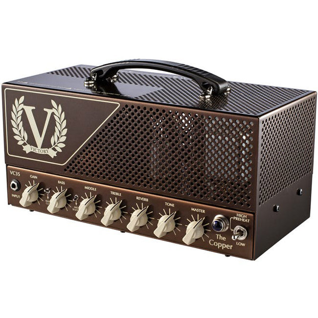 View larger image of Victory VC35H The Copper Guitar Amp Head
