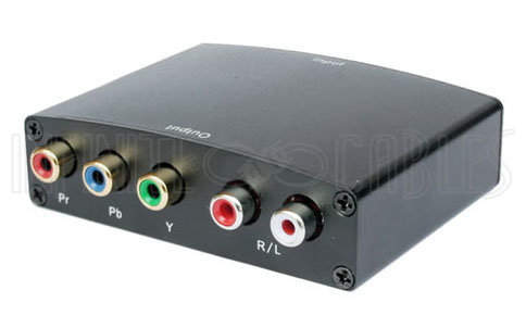 View larger image of Video Converter - HDMI to Component + Audio